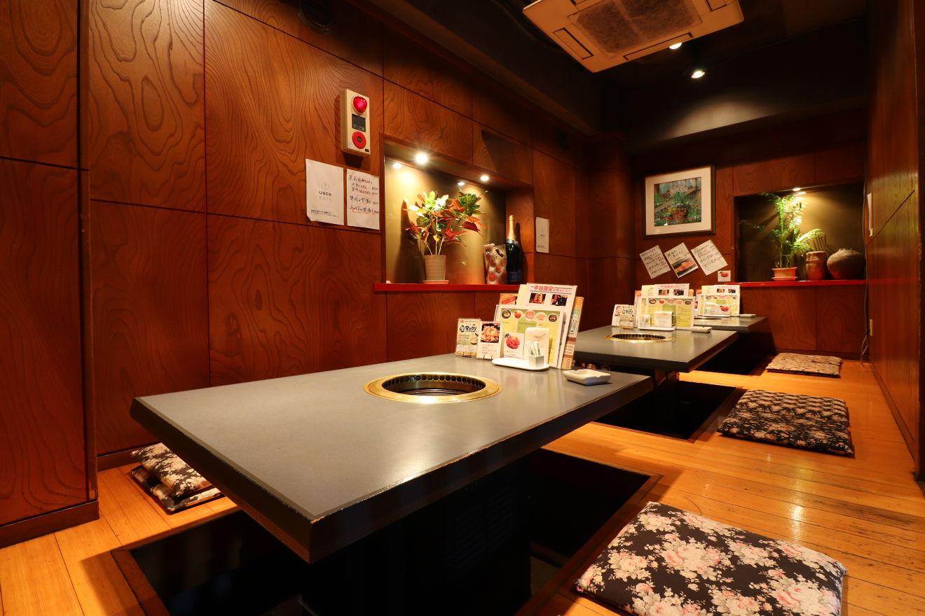 焼肉ハウス 江古田 宴会&女子会にピッタリの店内