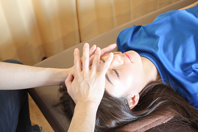 渋谷メディカルボディケア 美容整体による小顔矯正の写真
