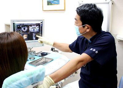 パルテノン歯科 原宿 わかりやすい治療説明の写真