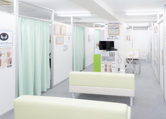 赤羽静脈瘤クリニック 待合室