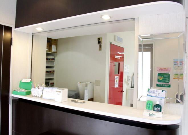 河野歯科医院 福生市 待合室の写真