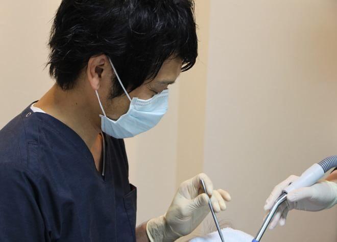 羽村チューリップ歯科 羽村市 歯科治療中の写真
