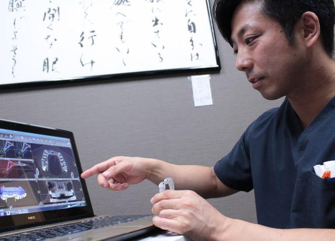 小金井ファーストデンタルクリニック 小金井市 図を用いた治療説明の写真