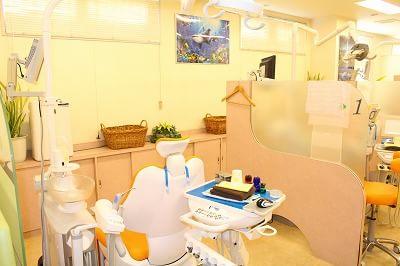 国立緑歯科クリニック 国分寺市 診察室の写真