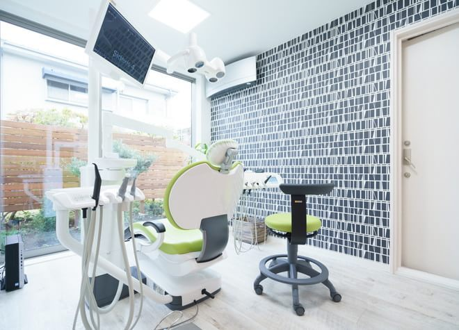 ひらさわ歯科 小平市 完全個室の診察室