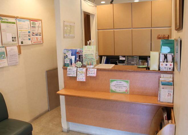 グリーン歯科クリニック 小金井市 待合室の写真