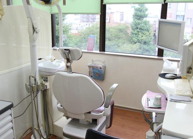 くにたち大学通り歯科医院 国立市 診察室の写真