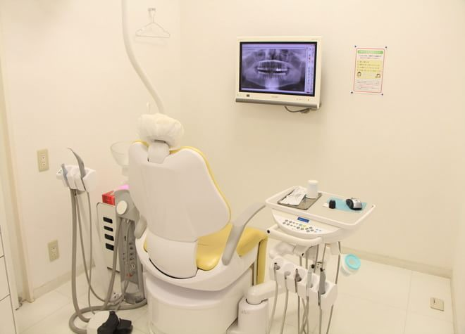 さやま歯科クリニック 稲城市 診察室の写真
