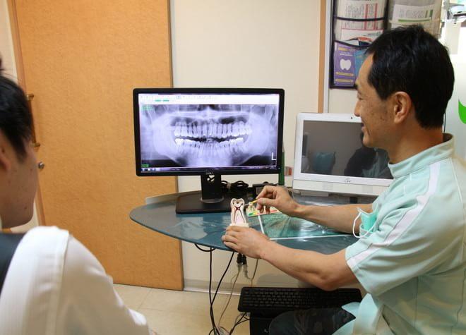 グリーン歯科クリニック 小金井市 治療説明の写真
