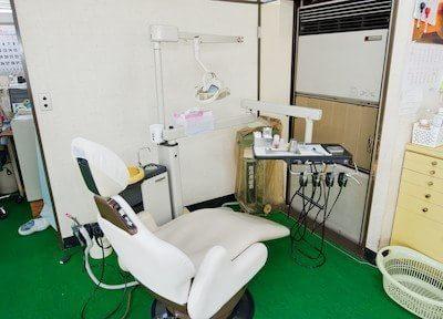信宅ビル歯科医院 清瀬市 診察室の写真