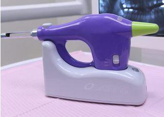 神津歯科医院 小平市 無痛治療に使用する電動麻酔器