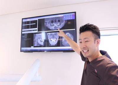 松本デンタルオフィス 東大和市 治療方法の説明する写真