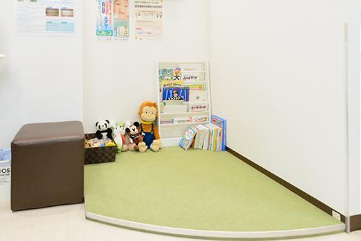 滝本歯科医院 国分寺市 キッズスペースの写真