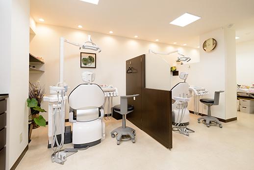 滝本歯科医院 国分寺市 診察室の写真