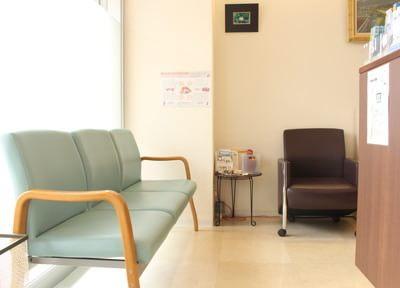 さかえ歯科クリニック 東大和市 待合室の写真
