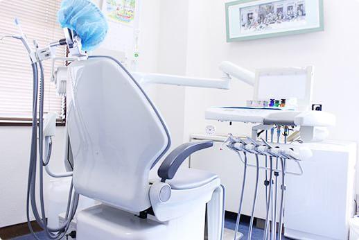 神津歯科医院 小平市 診療室の写真