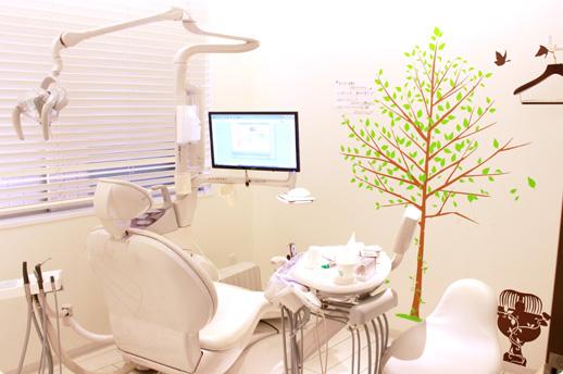 いさむ歯科クリニック 国立市 完全個室の診察室