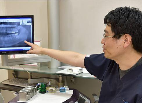 きそ歯科クリニック 小平市 治療説明の写真