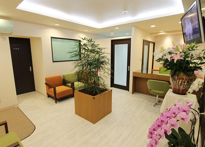 長崎歯科医院 小金井市 受付の写真