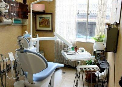 自由が丘銀座歯科 完全個室の診察室の写真