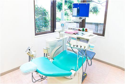 西砂歯科医院 立川市 診療室の写真