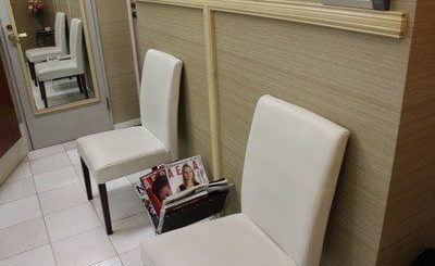 銀座はけた歯科医院 待合室の写真