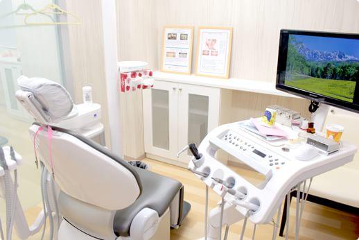 立川さくら歯科クリニック 立川市 診察室の写真