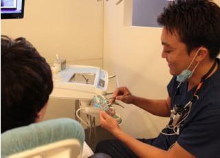 錦糸町スマイル歯科クリニック 治療説明の写真