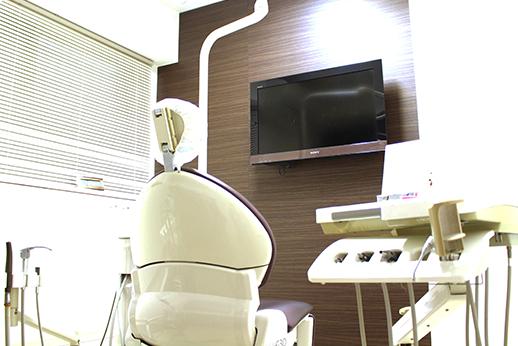 エイジ歯科 診察室の写真