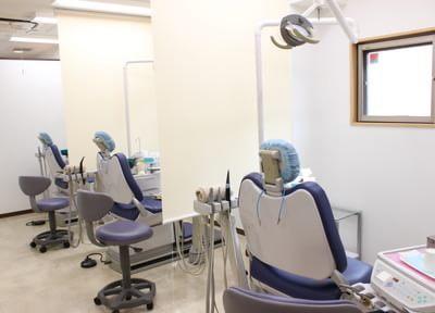 グリーンデンタルクリニック多磨霊園 府中市 診察室の写真