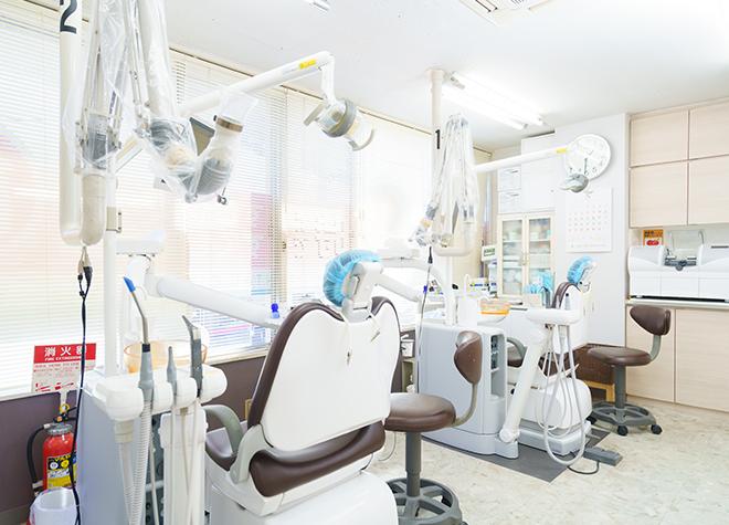 としま歯科医院 調布市 診察室の写真