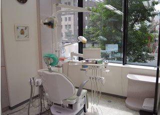 銀座はけた歯科医院 診察室の写真