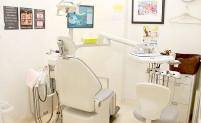 横須賀歯科医院 大森駅 完全個室の診療室
