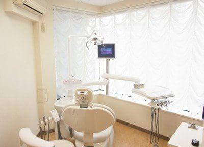 新宿オランジェ歯科・矯正歯科 完全個室の診察室の写真