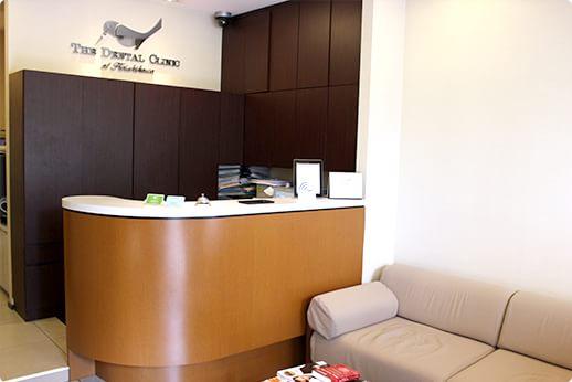 小石川歯科クリニック 春日駅 待合室の写真