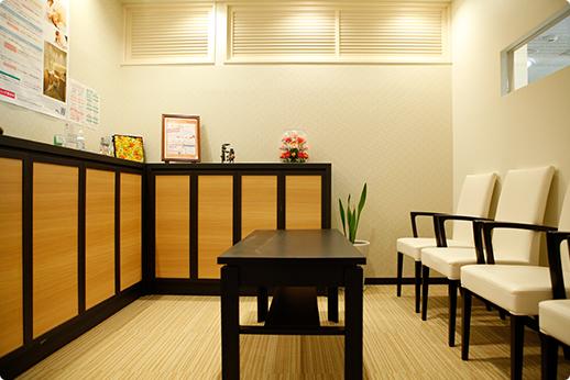 横須賀デンタルオフィス 大森駅 待合室の写真