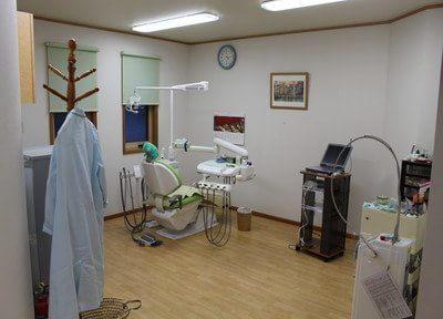 木下歯科医院 荻窪駅 完全個室の診察室