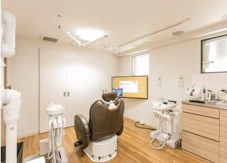 デンタルケアステーション 高田馬場歯科 診察室の写真