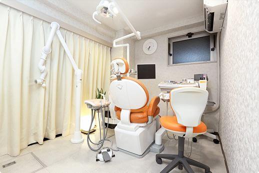 ホワイトラビット歯科医院 大井町駅 診察室の写真