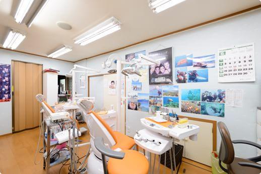 田中歯科医院 立川市 診療室の写真