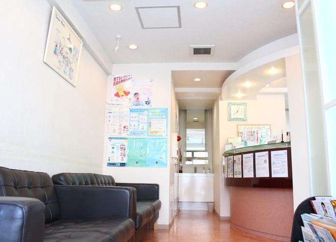 うしやま歯科 練馬駅 待合室の写真