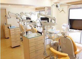 こばやし歯科クリニック 新小岩駅 診察室の写真
