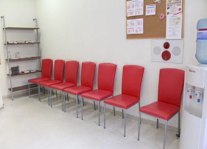 たにざわ歯科クリニック 立川駅 待合室の写真