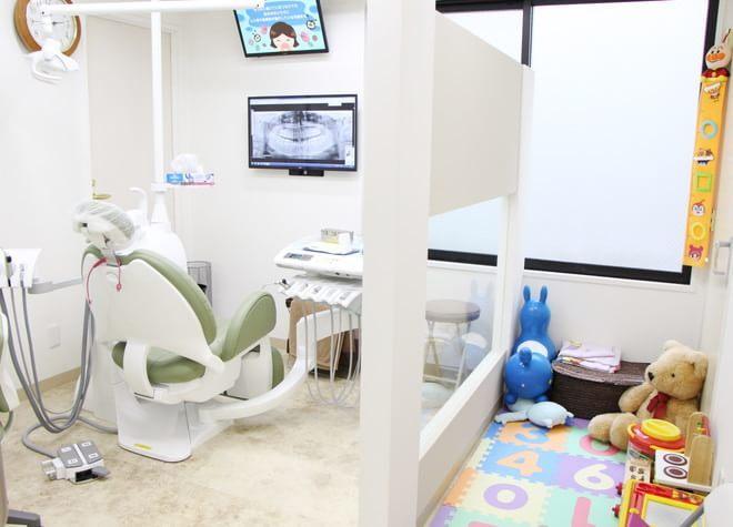 クレア歯科医院 葛西駅 キッズスペースの写真