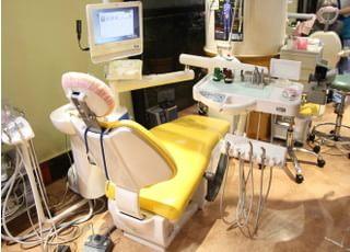 ハンズデンタルクリニック 調布駅 診察室の写真