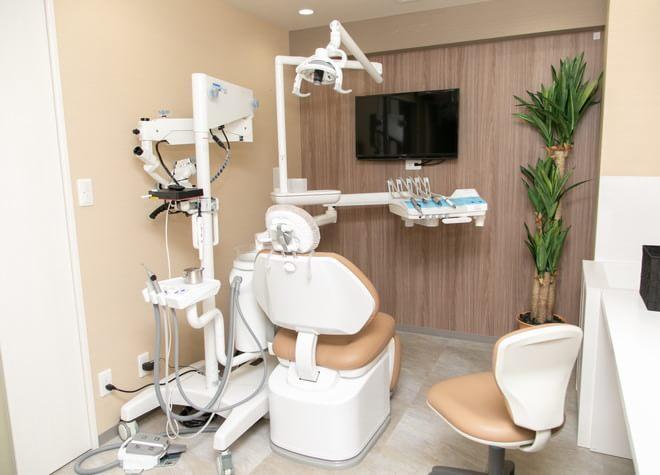 三軒茶屋ふじい歯科 診察室の写真