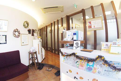 洋歯科クリニック 練馬駅 待合室の写真