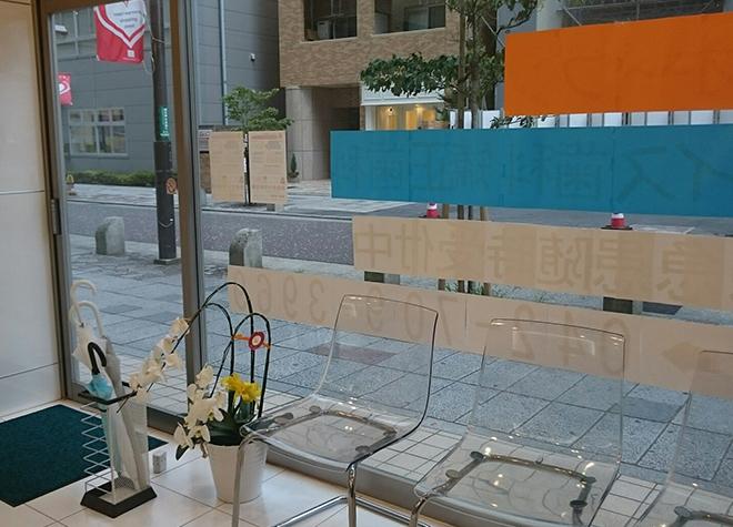 町田駅前グレイス歯科・矯正歯科 待合室の写真