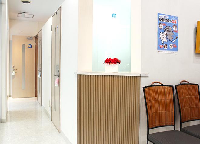 葛西ハート歯科クリニック 葛西駅 待合室の写真