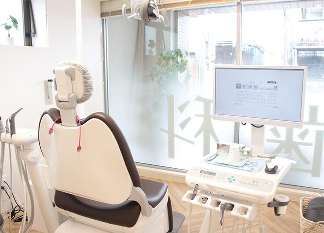 調布NORI歯科クリニック 診察室の写真